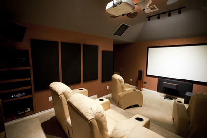 Home theater installation in Brisbane